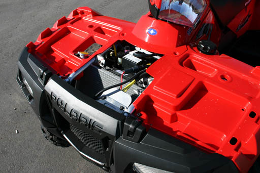 2010 Polaris Sportsman 550 XP Touring EPS Electric power