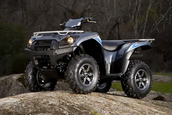 2012 Kawasaki Brute Force EPS ATV Television. ATV. UTV. SxS. Tests